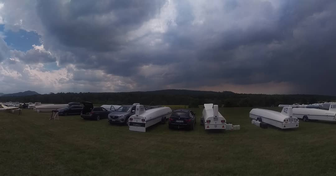 The Story of Hahnweide Competition Day 1, from Cumulus Clouds to Thunderstorms