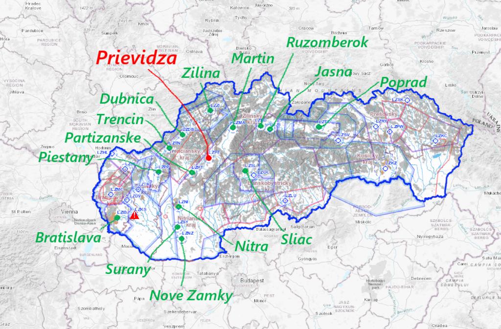 Slovakia Airports